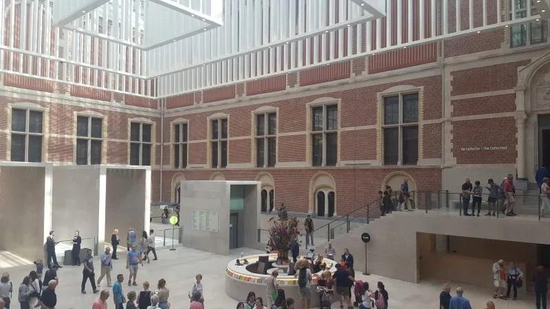 Rijksmuseum atrium