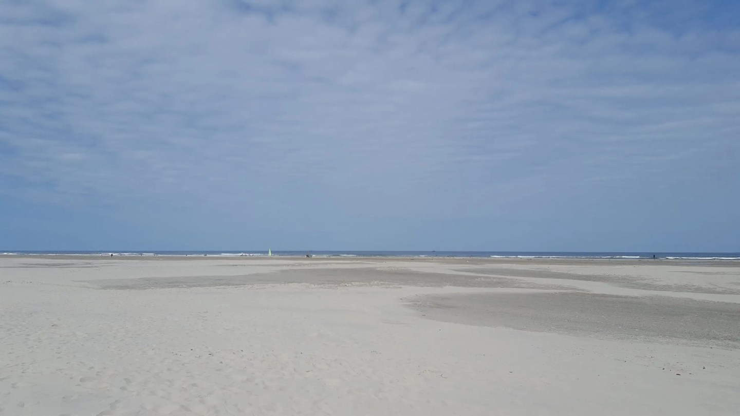 sandy beach holland