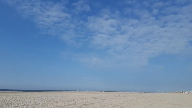 Kijkduin beach Holland
