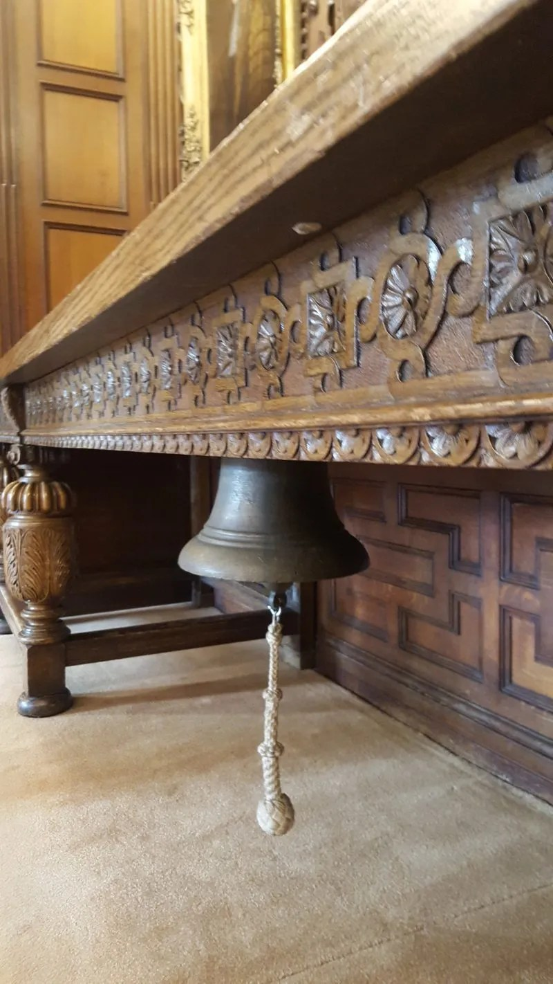 Coffee Bell Parliament room Middle Temple