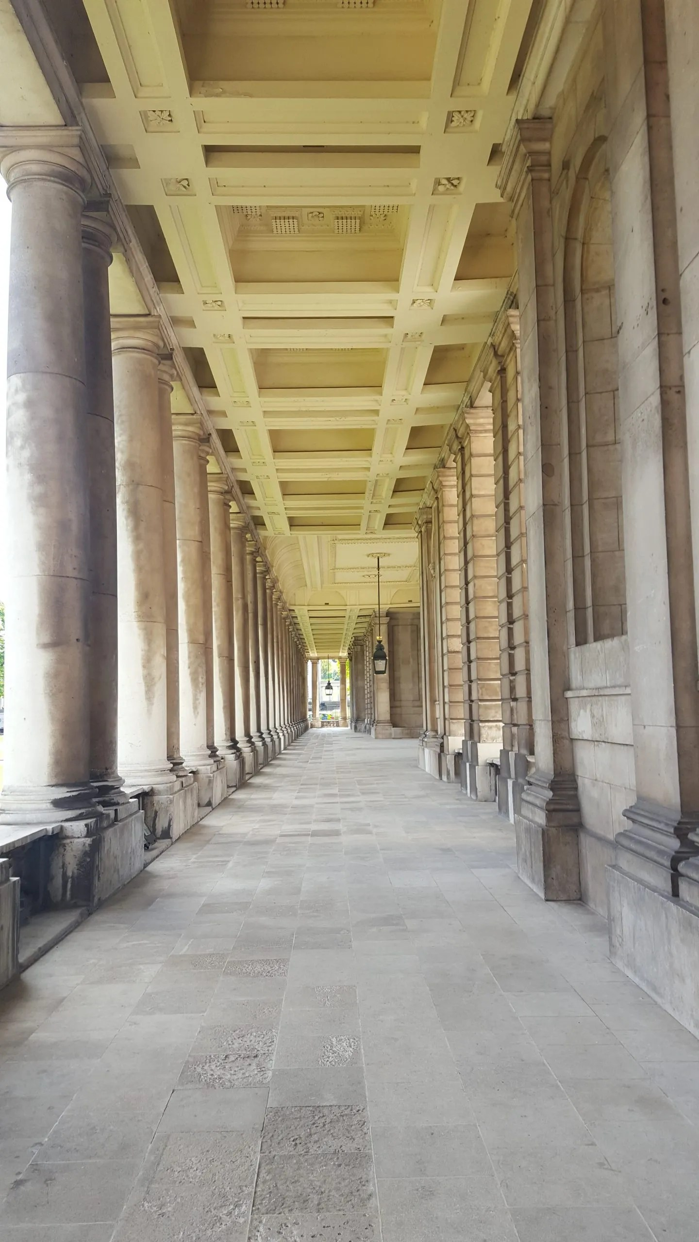 Old Royal Naval College Colonnades Greenwich