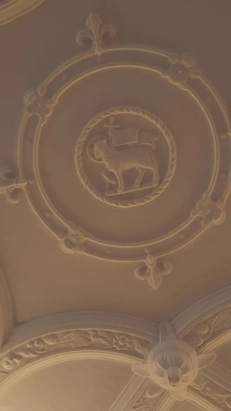 Queens Room Plasterwork ceiling Middle Temple