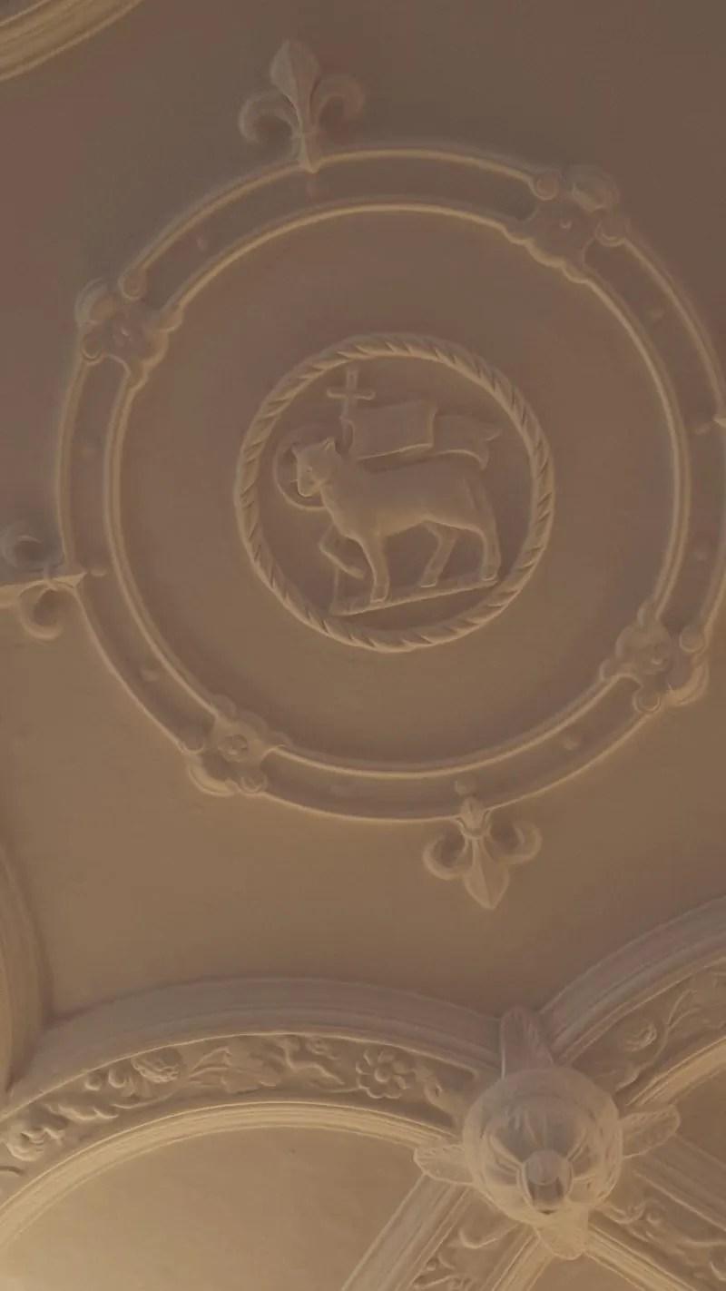 Queens Room Plasterwork ceiling Middle Temple
