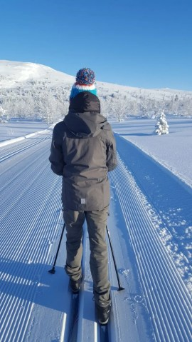 Cross Country Ski trail Norway