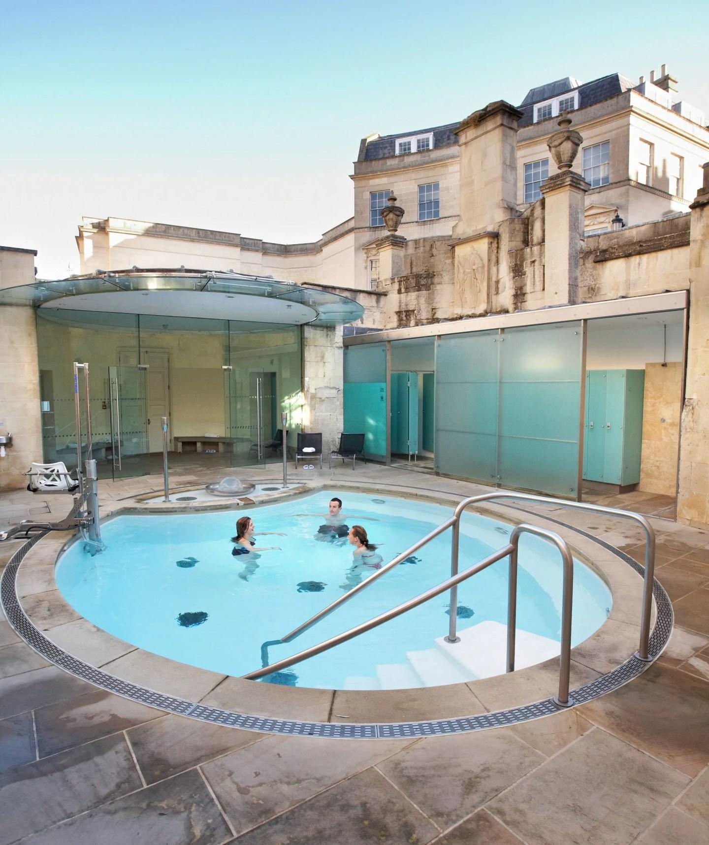 Cross Bath Bath Thermae Spa
