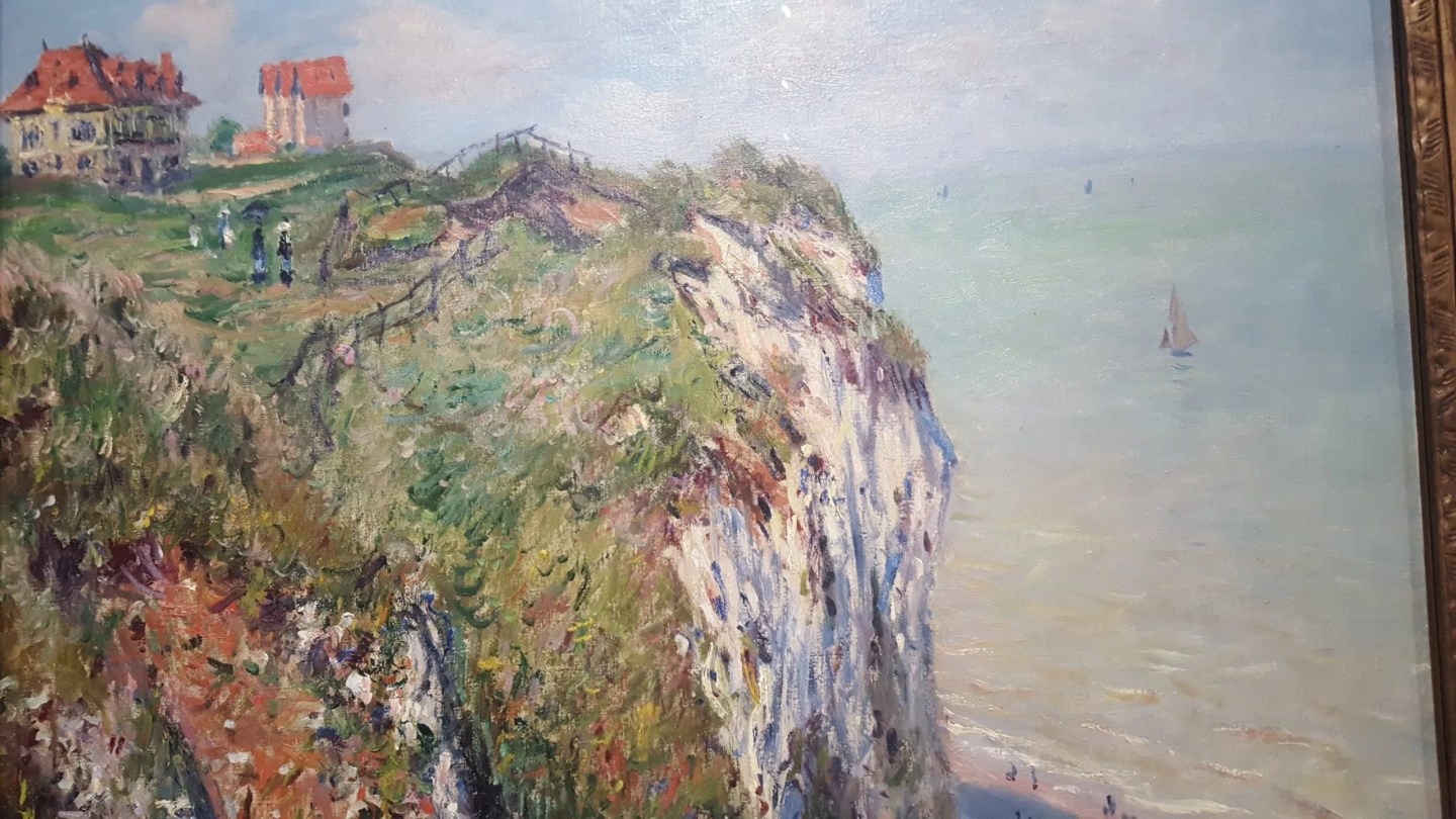 Claude Monet Cliffs at Dieppe
