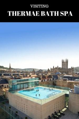 Thermae Bath Spa Day swim in Bath rooftop pool
