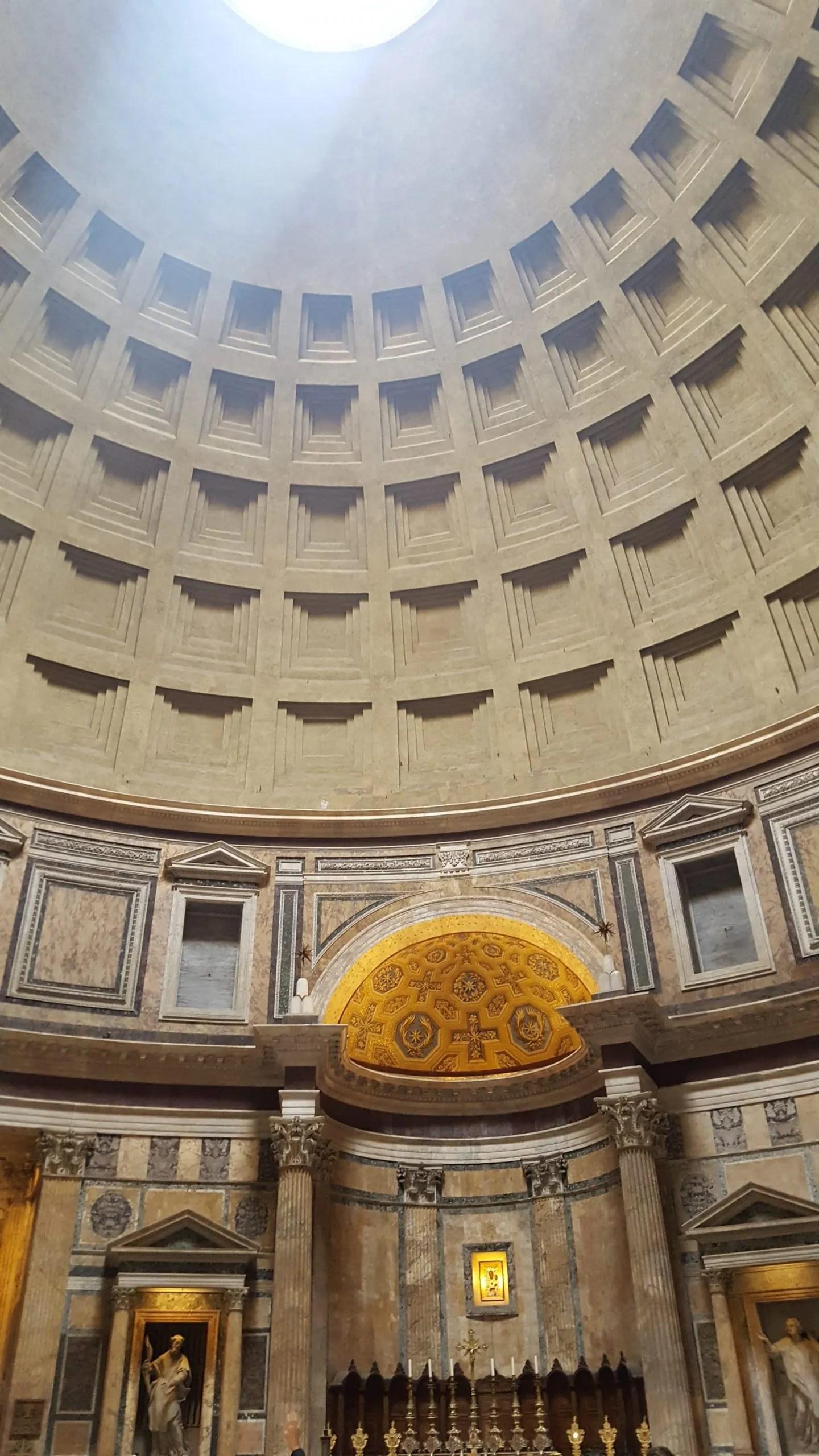 Pantheon interior Rome