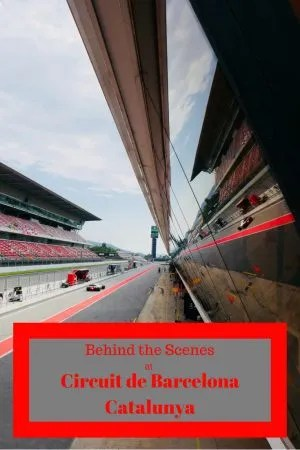 Behind the scenes at Circuit de Barcelona Catalunya. Falling for Fast cars, Formula 1 and Grand Prix are not the only way to navigate the track twice a week it is open to bicycles #Barcelona #Formula1 #cycling