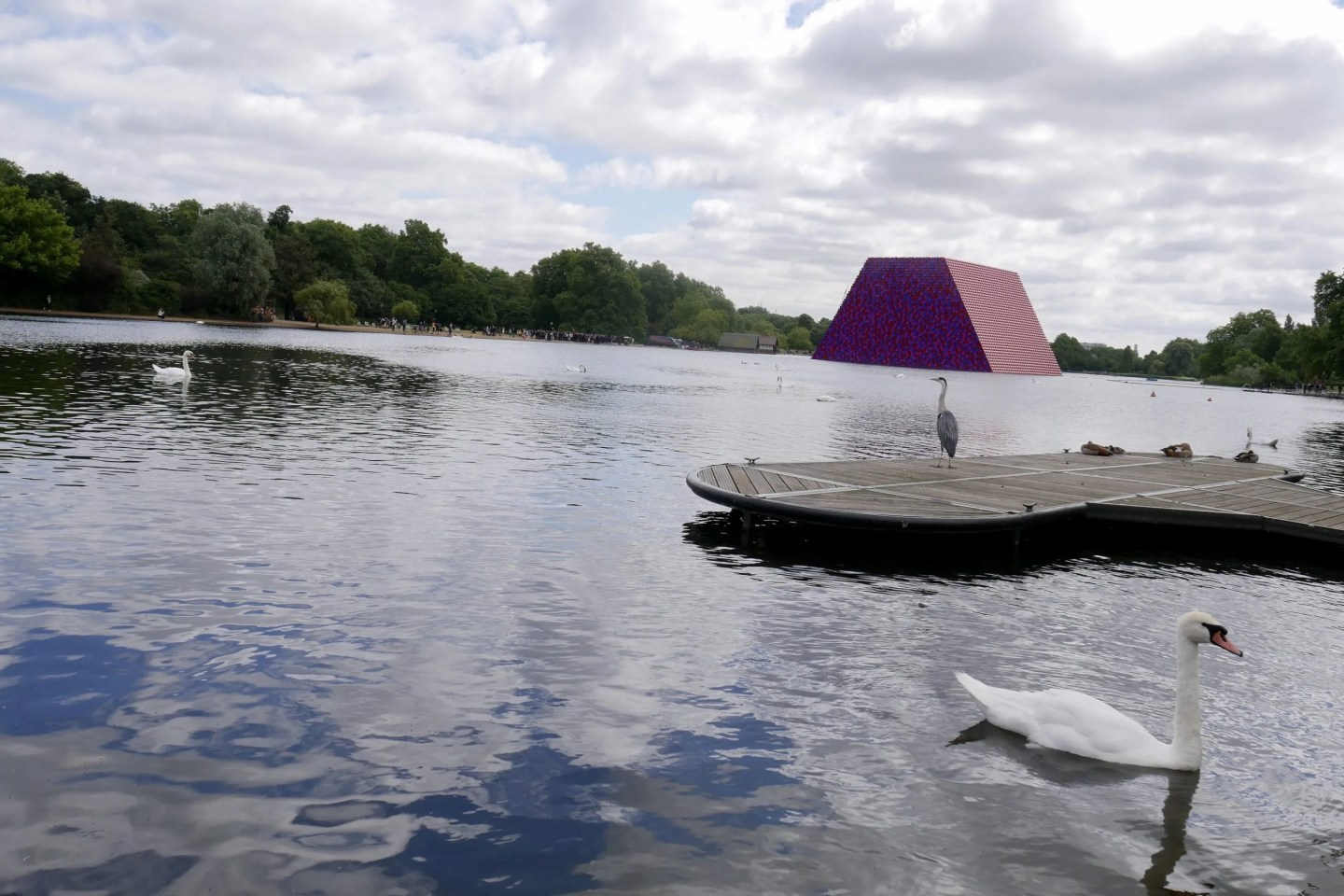 London Mastaba Serpentine Hyde Park