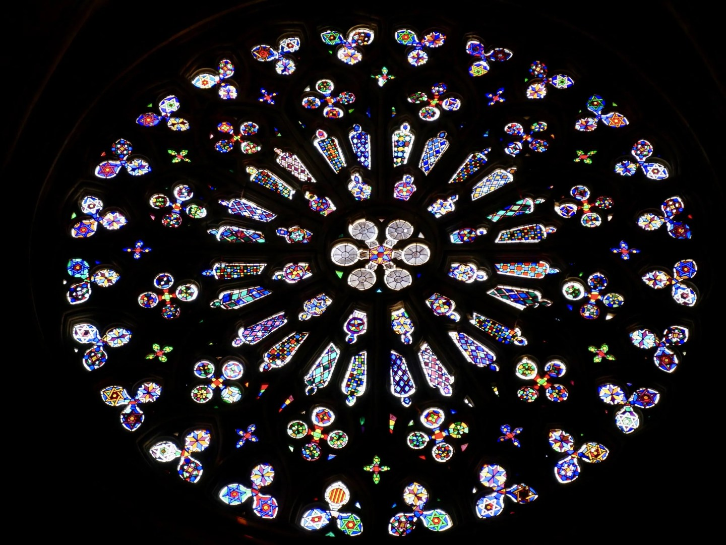 Rose window Sant Cugat