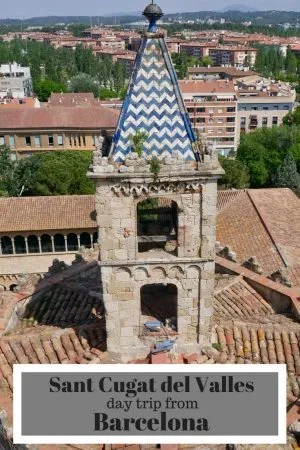 Sant Cugat del Valles a day trip from Barcelona