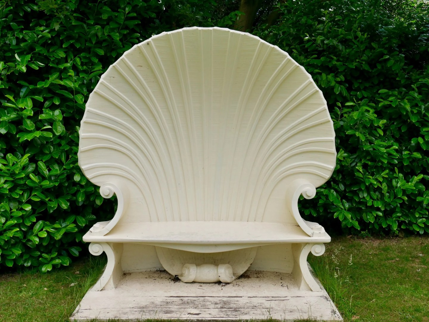 Shell seat Strawberry Hill House