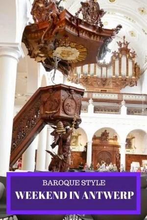 Baroque Style weekend in Antwerp