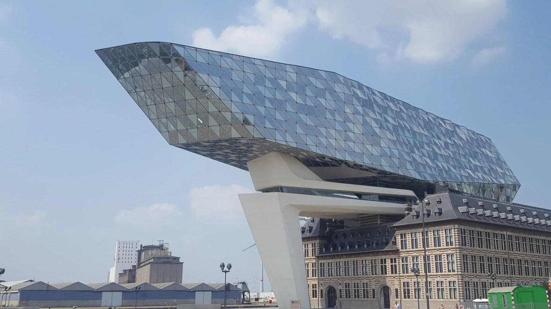 Zaha Hadid Port House Antwerp