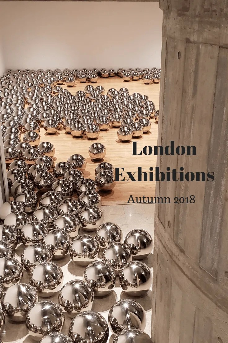 London Exhibitions Autumn 2018