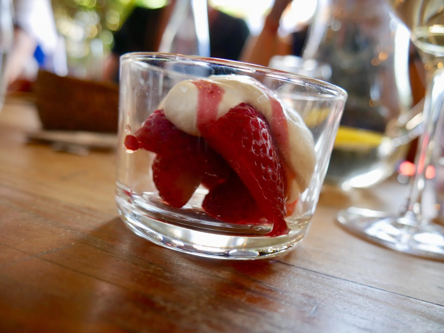 Maresme Strawberries and Cream