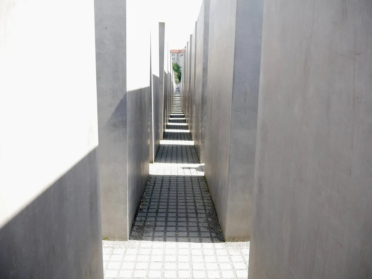 Jewish Holocaust Memorial Berlin