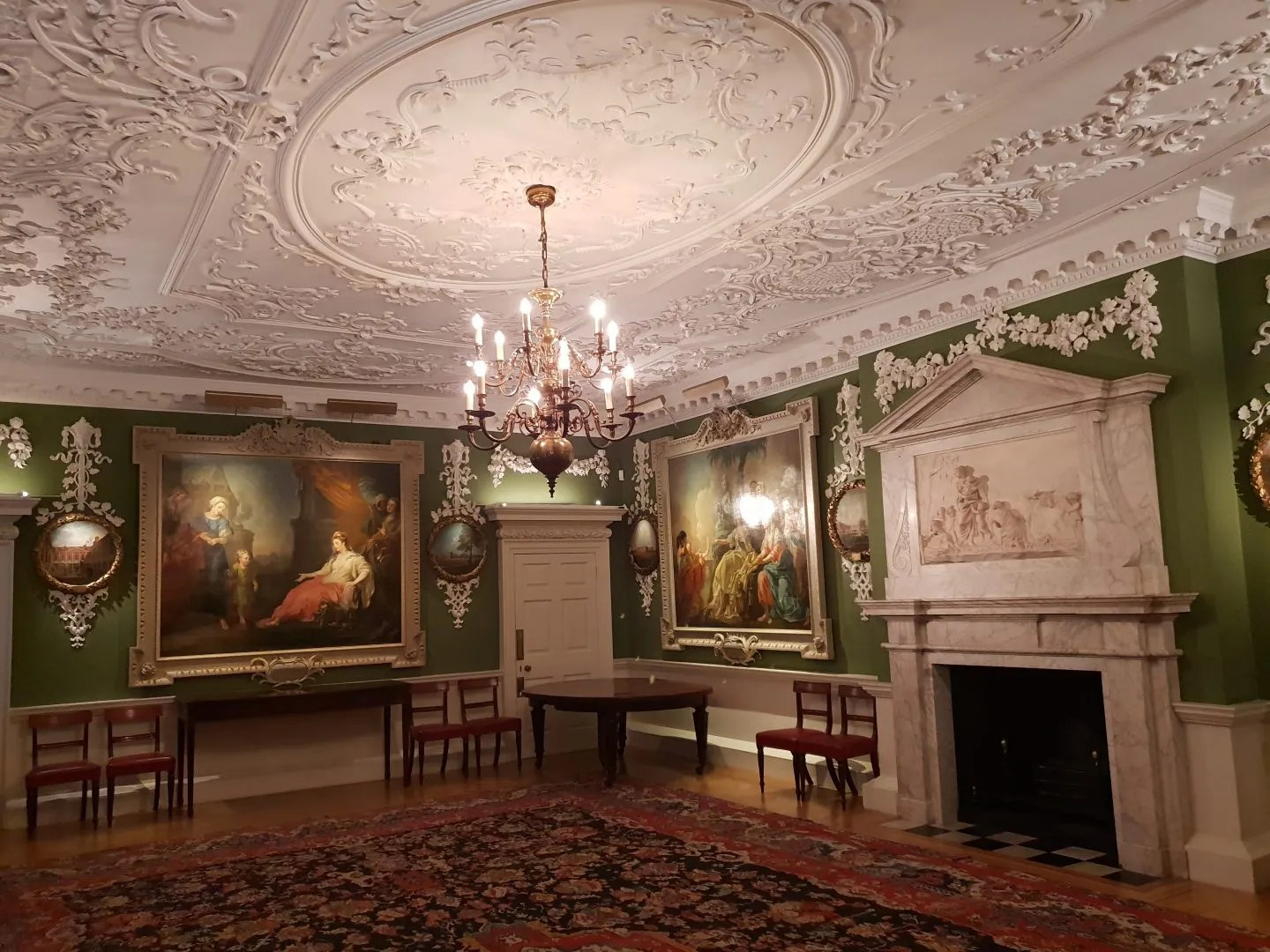 Court room Foundling Museum