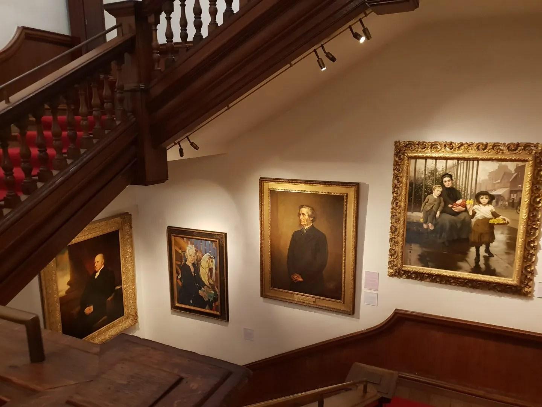 Jacqueline Wilson portrait Foundling Museum