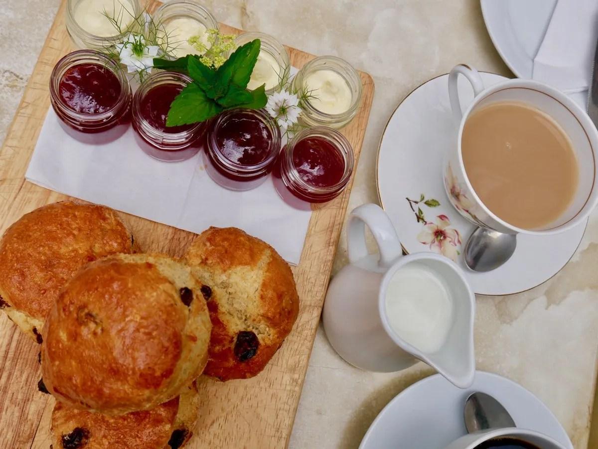 Cream Tea Strawberry Hill House Cafe