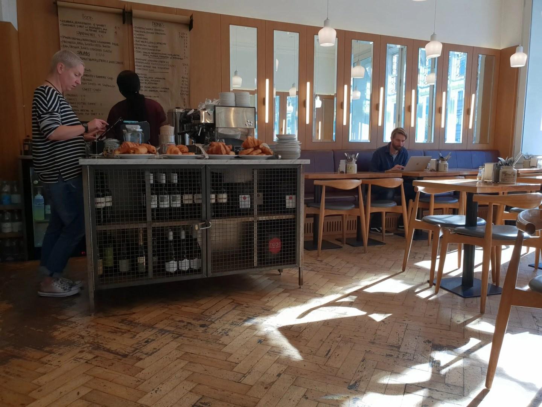 Whitechapel Gallery cafe