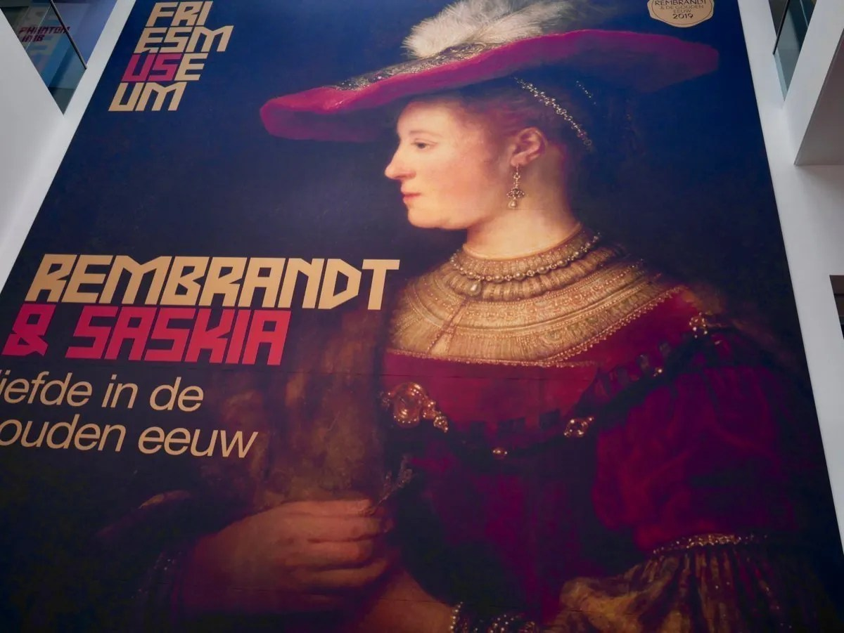 Rembrandt and Saskia Fries Museum