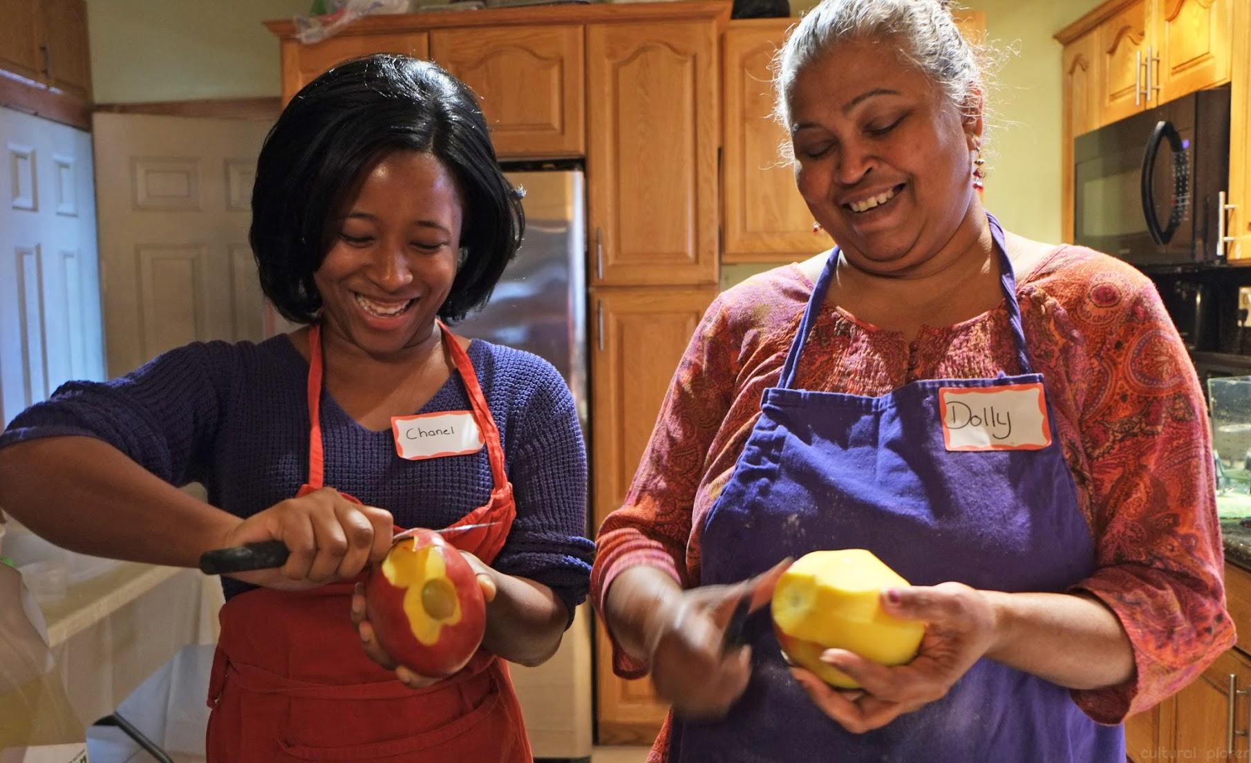 League of Kitchens Trinidadian Food NYC