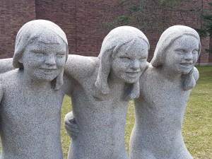 Gustav Vigelands skulpturer i Frognerparken. Foto Siri Wolland