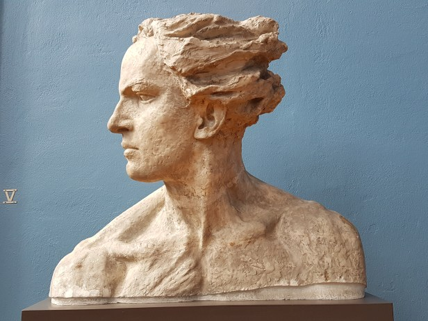Gustav Vigeland. Detalj fra Abel munumentet 1905. Fra Vigeland Museet i Oslo. Foto fra utstillingen: Siri Wolland