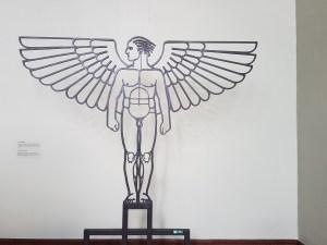 Gustav Vigeland. Smijernsengel. Vigeland-museet i Oslo. Foto fra utstillingen: Siri Wolland