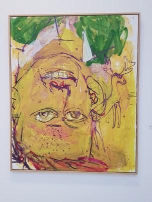 Georg Baselitz. Min gule periode III. 1997. Foto fra utstillingen: Siri Wolland