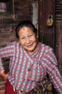Tempelbetjent. Nepal. Foto: Siri Wolland