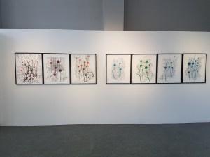Karin Mohr, 2017. Foto fra utstillingen: Siri Wolland