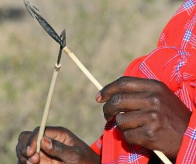 Masaispyd. Masai Mara Kenya. Foto: Siri Wolland