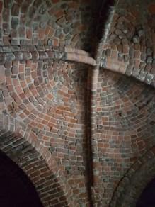 Krysshvelv i Olavsklosteret, 1239. Foto: Siri Wolland
