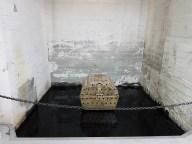 Per Barclay (f.1955), Untitled, 2013. (olje, pigment, vann.) Foto fra utstillingen: Siri Wolland.