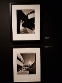 Bjørn Winsnes, Røldal-Suldal kraftanlegg, 1967, og Bakeribygningen for Ditlef Martens, ca 1966. Arkitekt: Geir Grung. Foto fra utstillingen: Siri Wolland.