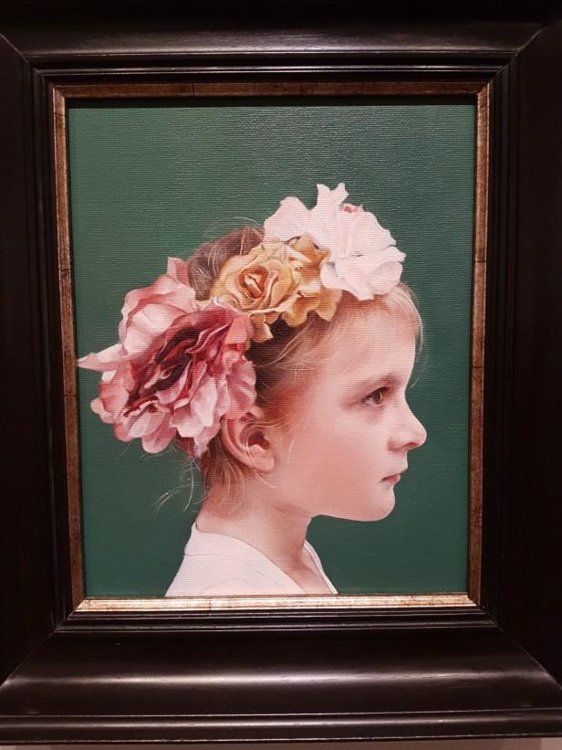Emily Stainer (f.1980), Annabel. Foto fra utstillingen: Siri Wolland