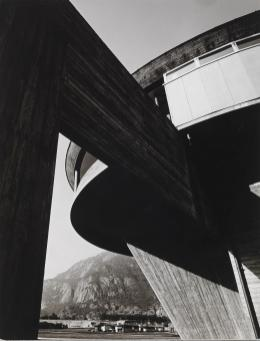 Foto Bjørn Winsnes, Røldal-Suldal kraftanlegg, 1967. Arkitekt: Geir Grung. Pressefoto fra Nasjonalmuseet - Arkitektur.