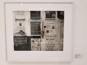 Dag Alveng, Sjakk. Botvinniks grav, Moskva, 2017. Foto fra utstillingen: Siri Wolland
