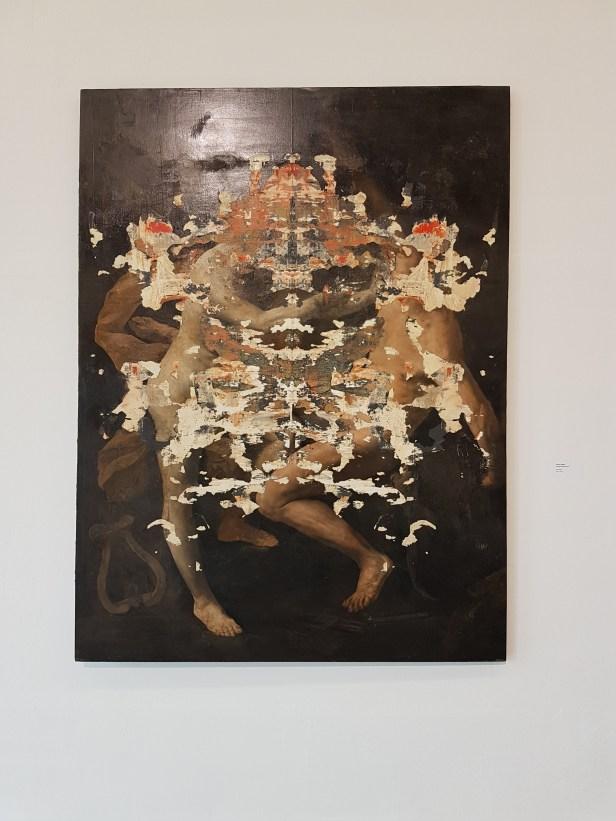 Nicola Samori, Fiamma parassita, 2016. Foto fra utstillingen: Siri Wolland.