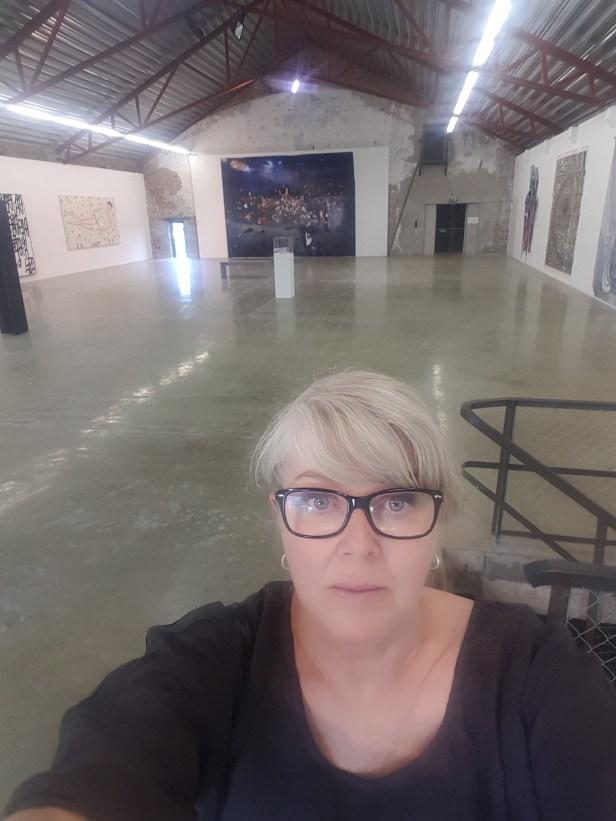 Vestfossen Kunstlaboratorium, Contemporary Chaos. Foto fra utstillingen: Siri Wolland.