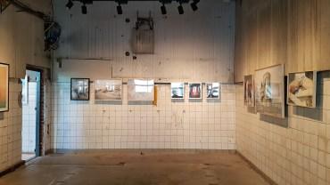 Frogner stasjon, foto fra utstillingen: Siri Wolland.