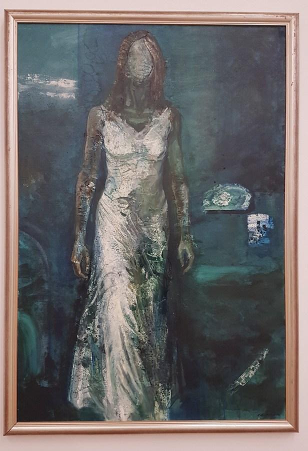Håkon Bleken, Sissel mot meg, 1976. Foto fra utstillingen; Siri Wolland