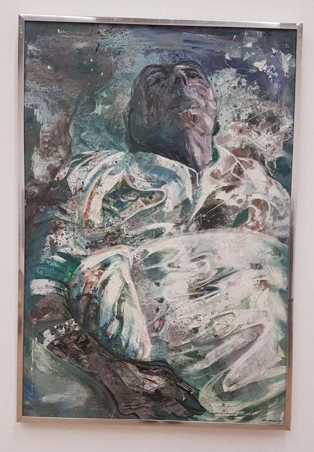 Håkon Bleken, Adjø da, 1976. Foto fra utstillingen; Siri Wolland