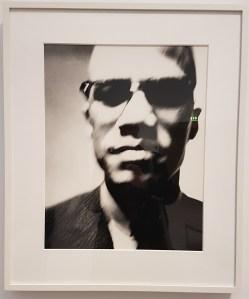 Malcolm X, national leader, 1963. Fra utstillingen Avedons Amerika, Henie Onstad kunstsenter. Alle fotografier Richard Avedon. Foto fra utstillingen; Siri Wolland.