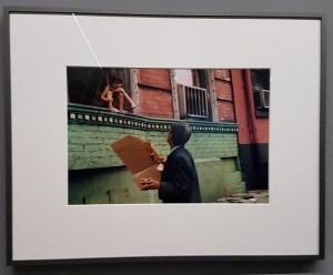 Foto Helen Levitt, New York 1972. Foto fra utstillingen; Siri Wolland.
