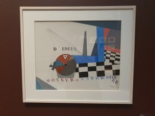 Jean Crotti, Laboatoire l`idées. 1921. Foto fra utstillingen Siri Wolland.
