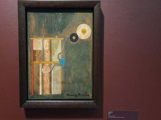 Francis Picobia, Ventilateur. 1918. Foto fra utstillingen Siri Wolland.